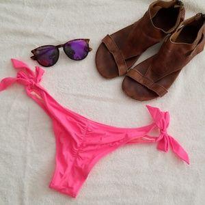 Victoria's Secret Swim - VS Itsy side tie cheeky bottoms